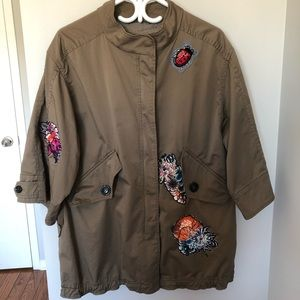 Marc Cain jacket with sequined patches